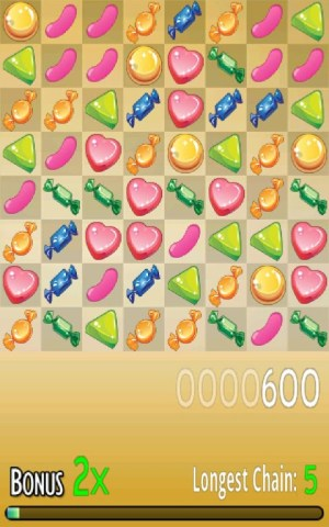 Android Candy Match Screen 2