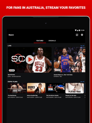 Android ESPN Screen 6