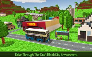 City Bus Simulator Craft PRO 1.5 Screen 4