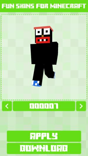 Fun Skins for Minecraft 1.0.0.125 Screen 3
