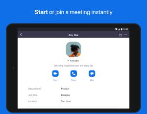 Android ZOOM Cloud Meetings Screen 12