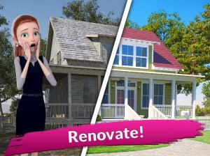 Flip This House: Design & Home Makeover Games 3D 1.103 Screen 7