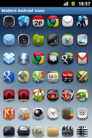 Modern Android Icon Pack 2.0 Screen 4