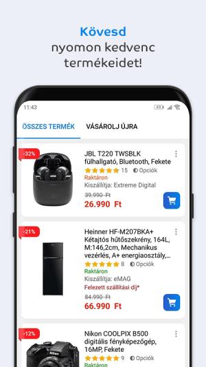 eMAG.hu 3.2.5 Screen 2