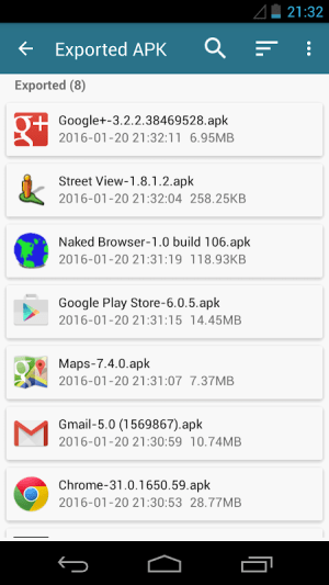 AppWererabbit 7.2.4 Screen 1