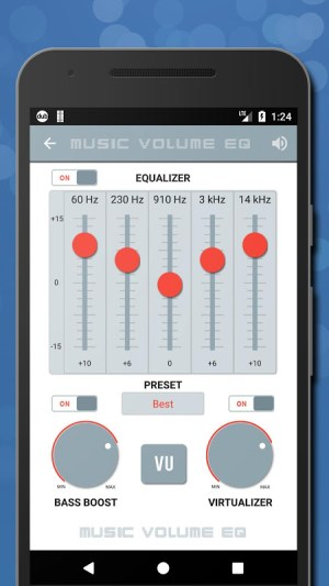 Music Volume EQ — Equalizer Bass Booster Amplifier 4.81c Screen 7
