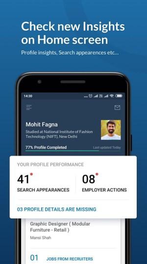 Naukri.com Job Search 12.6 Screen 2