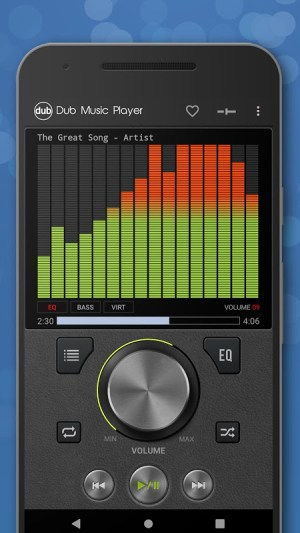 Android Dub Music Player - Free Audio Player, Equalizer 🎧 Screen 7