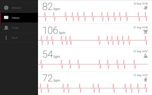Cardiograph - Heart Rate Meter 4.1.2 Screen 7