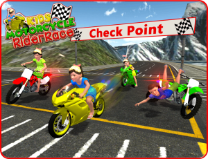 Kids MotorBike Rider Race 3D 1.0 Screen 8