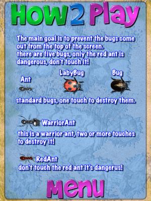 Smash the Bugs X 5.0 Screen 1