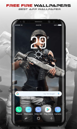 Android Free Fire Wallpapers Screen 2