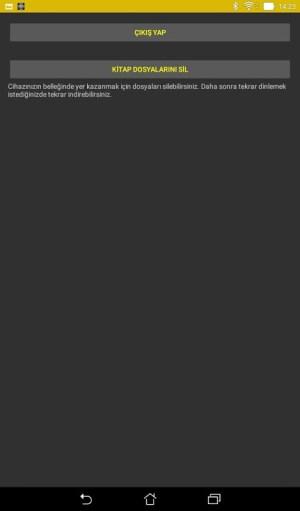 Android Sesli Kütüphane Screen 3