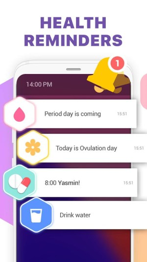 Period Tracker, Ovulation Calendar & Fertility app 1.41 Screen 4