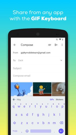 GIPHY: GIF & Sticker Keyboard & Maker 4.2.6 Screen 4