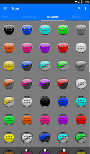 Black Icon Pack Free 3.9 Screen 13
