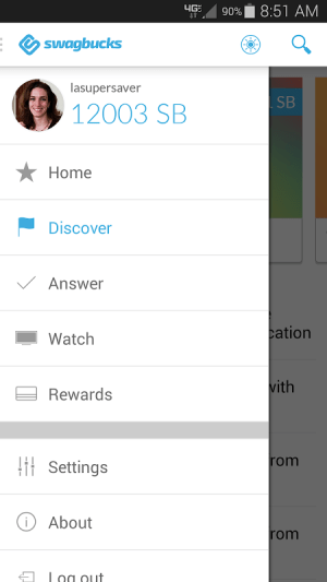 Swagbucks 3.1.2 Screen 4