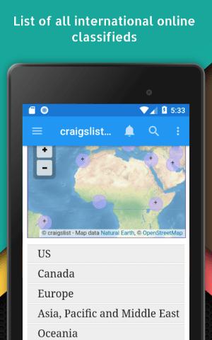App for Craigslist - Buy & Sell Postings 1.1 Screen 10