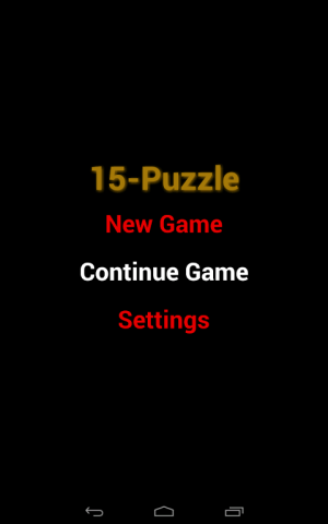 Android 15-Puzzle Classic Screen 5