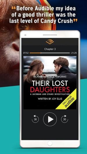 Audiobooks from Audible 2.36.0 Screen 6