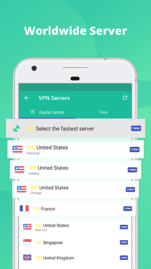 Free VPN & security unblock Proxy -Snap Master VPN 7.0.5 Screen 5