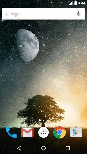 Simple Moon Phase Widget Plus 1.3.3 Screen 2