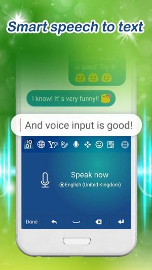 Android HS IQQI International Keyboard - Emoji, Emoticons Screen 5