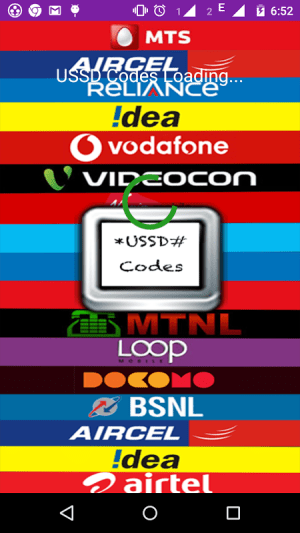 Android USSD Codes Screen 5