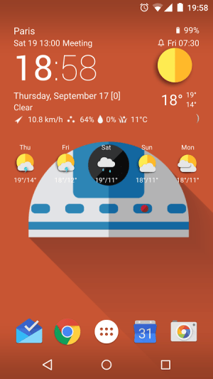 TCW weather icon pack 2 0.50.02 Screen 9