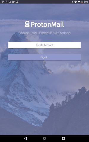 ProtonMail - Encrypted Email 1.11.0 Screen 7