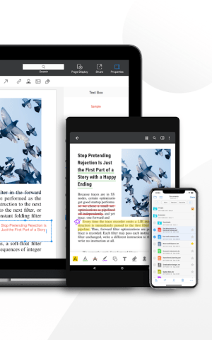 Android PDF Reader Pro - Annotate, Edit, Fill Forms & Sign Screen 15