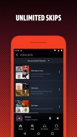 Android Amazon Music Screen 1