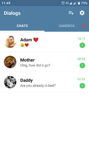 Fake Chat Messenger — TeleFake 1.0.9 Screen 3