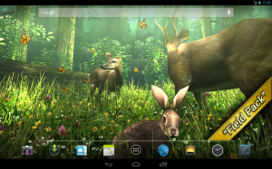 Android Forest HD Screen 1