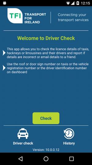 Driver Check 2.3.4 Screen 1