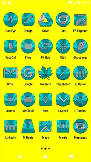 Cyan Icon Pack ✨Free✨ 3.8 Screen 17