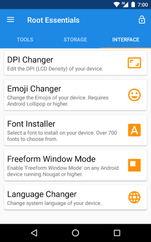 Root Essentials 2.4.9 Screen 11