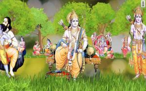 4D Shri Rama (श्री राम दरबार) Live Wallpaper 9.0 Screen 13