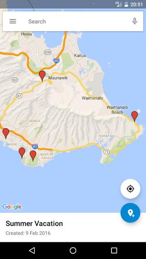 Google My Maps 2.2.1.4 Screen 1