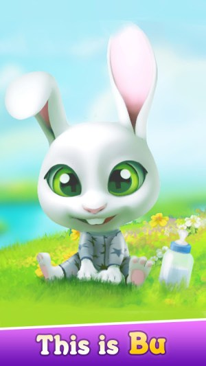 Android Bu the Baby Rabbit - Virtual pets care game Screen 6