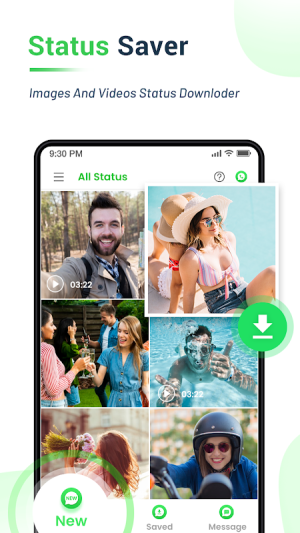 Android Status Saver - Downloader for Whatsapp Screen 2