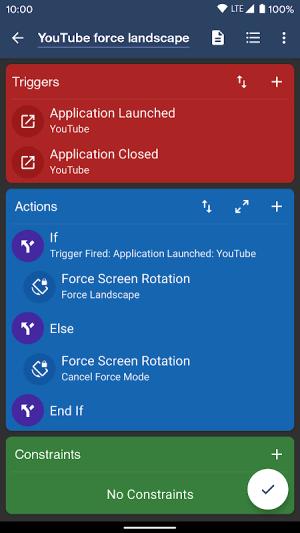 MacroDroid - Automation 5.2.1 Screen 4