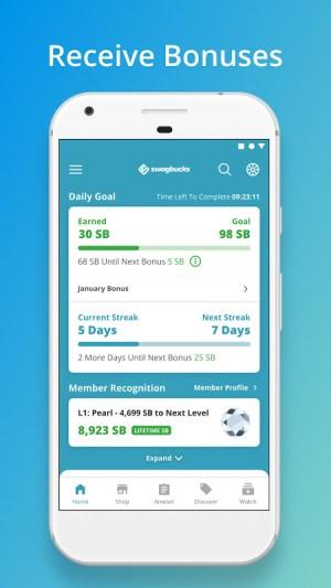 Android Swagbucks Screen 2