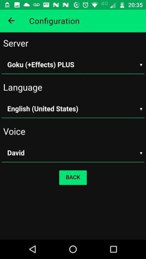 Narrator's Voice 9.0.23 Screen 3