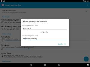 Hourly Talking Alarm Clock  Reminder Lite 2.9.8 Screen 11
