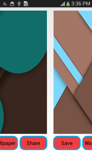 Android Material Design Wall Screen 4