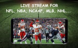 Android Dofu Live Stream for XFL NFL NBA NCAAF MLB NHL Screen 2