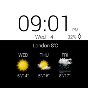 Transparent clock weather Pro 0.99.02.39 Screen 18