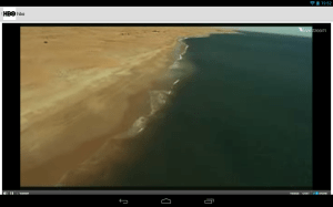 Android TV Player for Android Screen 3