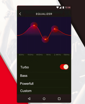 Android Music Player Screen 2